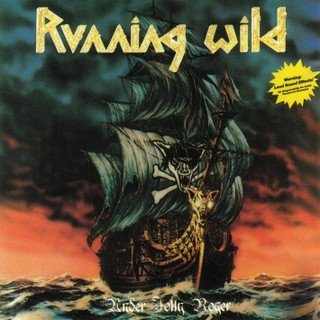RUNNING WILD under jolly roger CD 1987 HEAVY METAL