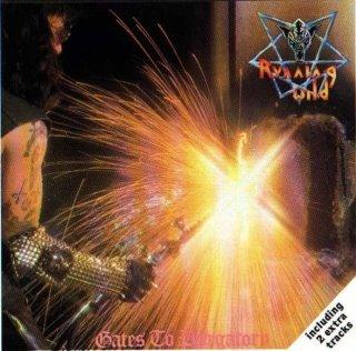RUNNING WILD gates to purgatory CD 1984 HEAVY METAL