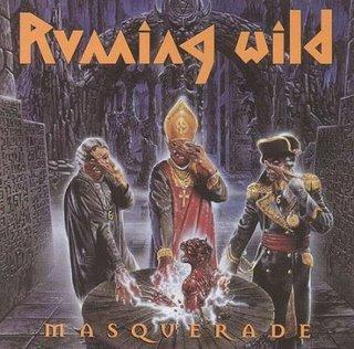 RUNNING WILD masquerade CD 1995 HEAVY METAL
