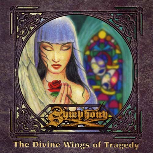 SYMPHONY X the divine wings of tragedy CD 1997 PROGRESSIVE POWER METAL