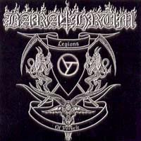 BARATHRUM legions of perkele CD 2007 BLACK METAL