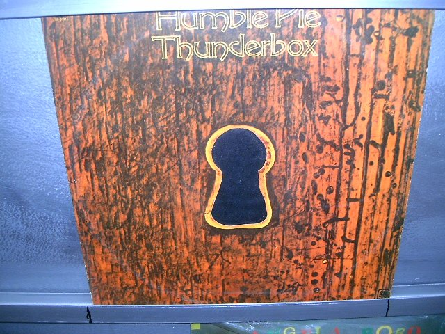 HUMBLE PIE thutderbox LP 1974 ROCK**
