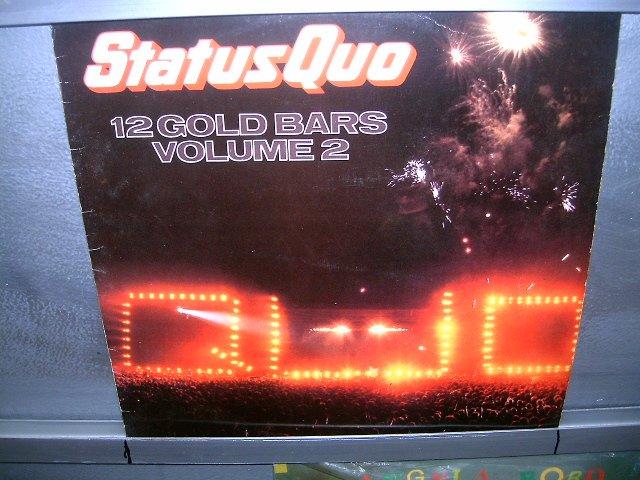 STATUS QUO 12 gold bars volume 2 LP 1985 ROCK  EXCELENTE MUITO RARO VINIL