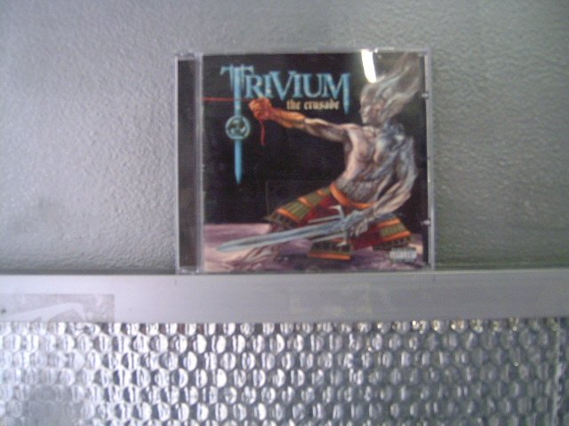 TRIVIUM the crusade CD 2006 METAL CORE