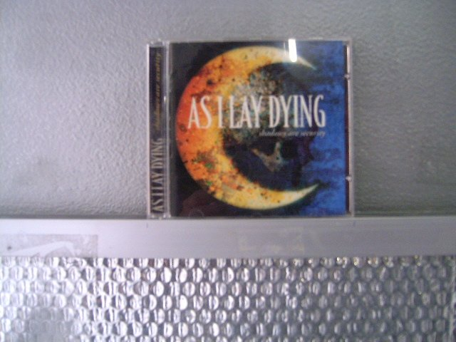AS I LAY DYING shadows are security CD 2005 METAL CORE