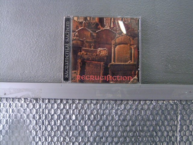 SACRAMENTAL SACHEM recrucifiction CD 1995 DEATH METAL
