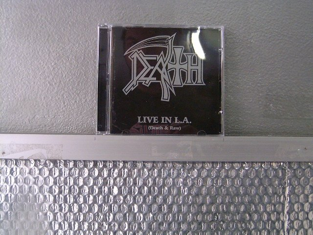 DEATH live in l.a. CD 2003 DEATH METAL
