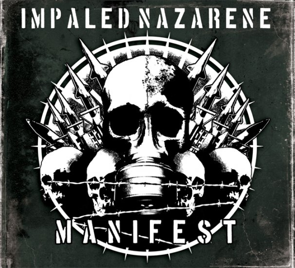 IMPALED NAZARENE manifest CD 2007 BLACK METAL