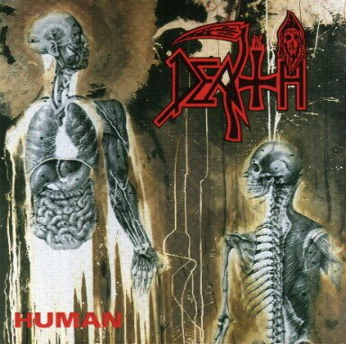 DEATH human CD 1991 DEATH METAL