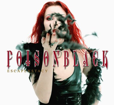 POISON BLACK escapexstacy CD 2003 GOTHIC METAL