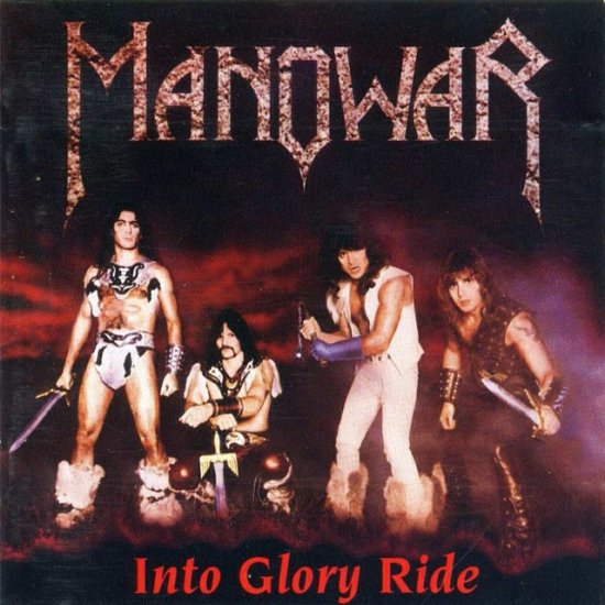 MANOWAR into glory ride CD 1983 HEAVY METAL
