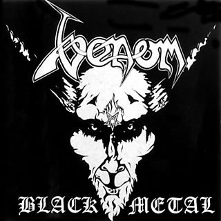 VENOM black metal CD 1982 BLACK METAL