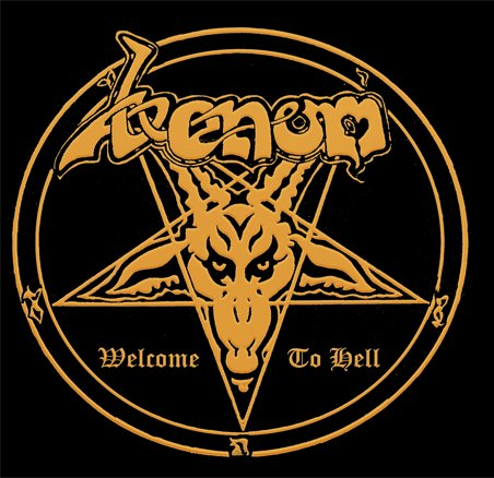 VENOM welcome to hell CD 1981 BLACK METAL
