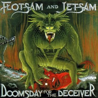 FLOTSAM AND JETSAM doomsday for the receiver CD 1986 THRASH METAL