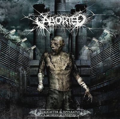 ABORTED slaughter & apparatus - a methodical overture CD 2007 DEATH METAL