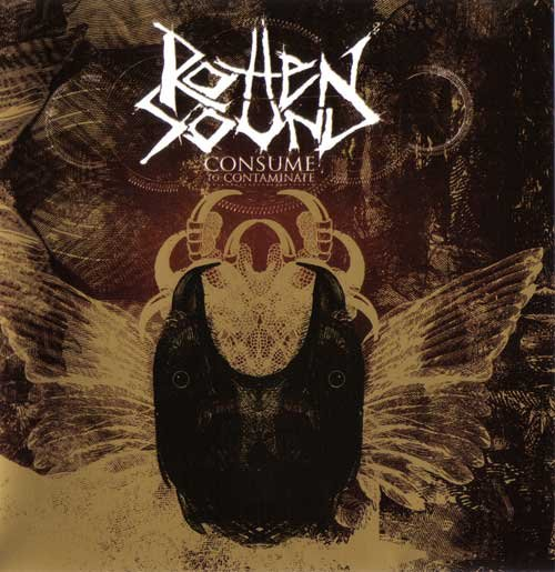ROTTEN SOUND consume to contaminate MINI CD 2006 GRIND CORE