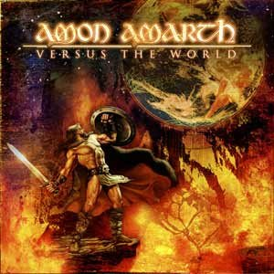 AMON AMARTH versus the world CD 2002 VIKING DEATH METAL