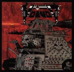 VOIVOD rrröööaaarrrr CD 1988 THRASH METAL