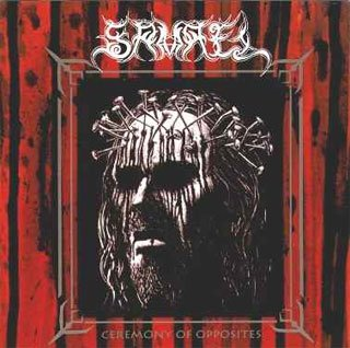 SAMAEL ceremony of opposites CD 1994 BLACK METAL
