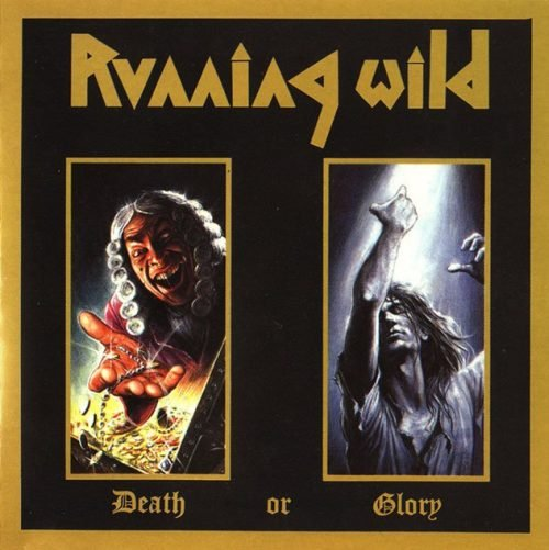 RUNNING WILD death or glory CD 1989 HEAVY METAL
