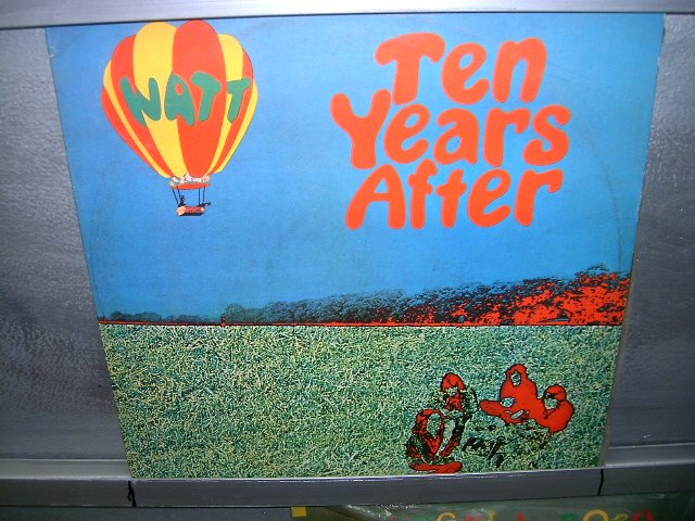 TEN YEARS AFTER watt LP 1976 ROCK SEMI-NOVO MUITO RARO VINIL