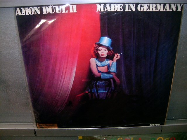AMON D��L 2 made in germany LP 1975 ROCK MUITO RARO VINIL