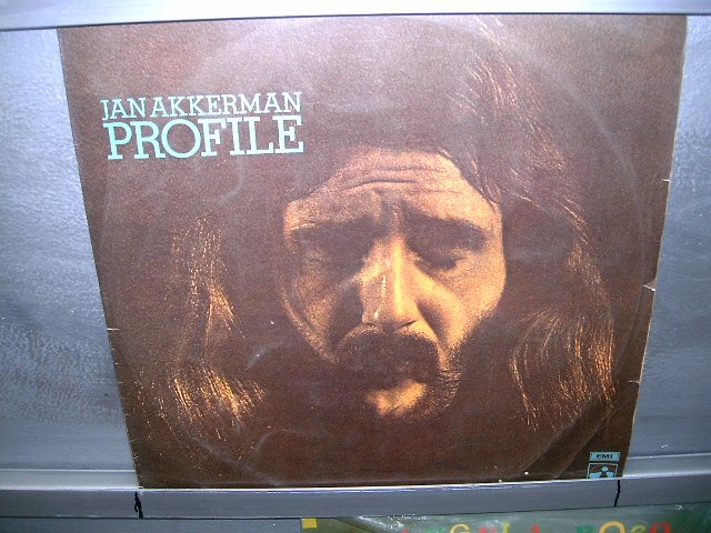 JAN AKKERMAN profile LP 1973 ROCK MUITO RARO VINIL