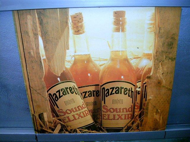 NAZARETH sound elixir LP 1983 ROCK**