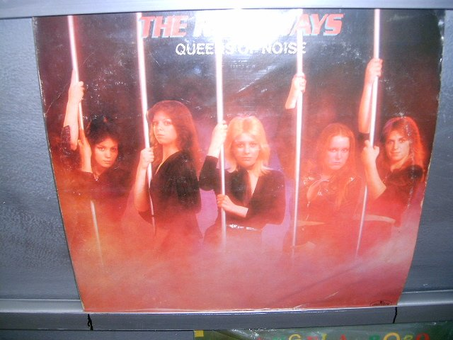 RUMAWAYS the queen of noise LP 1977 ROCK MUITO RARO VINIL