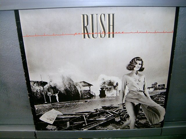 RUSH permanent waves LP 1980 ROCK EXCELENTE MUITO RARO VINIL