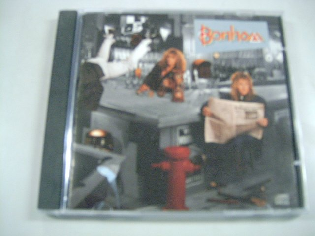 BONHAM the disregard of timekeeping CD 1989 HARD ROCK