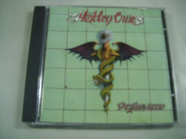M�TLEY CR�E dr. feelgood CD 1989 HARD ROCK