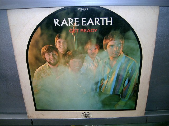 RARE EARTH get ready LP 1969 ROCK MUITO RARO VINIL