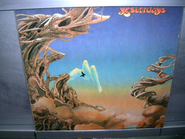 YES yesterdays LP 1979 ROCK EXCELENTE ORIGINAL  VINIL
