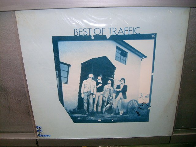TRAFFIC best of traffic LP 1969 ROCK SEMI-NOVO (NM)