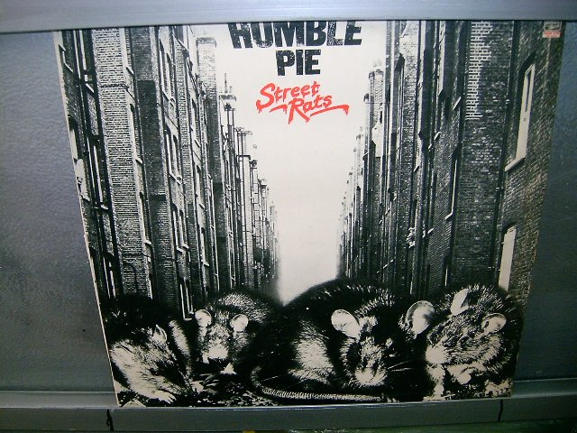 HUMBLE PIE street rats LP 1975 ROCK EXCELENTE MUITO RARO VINIL