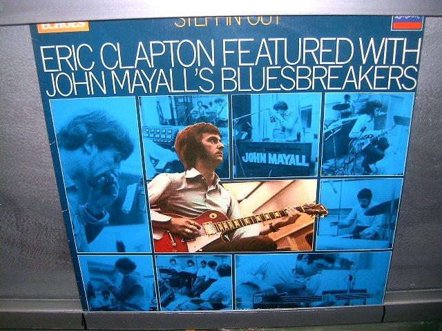 ERIC CLAPTON steppin out LP 1981 ROCK SEMI-NOVO MUITO RARO VINIL