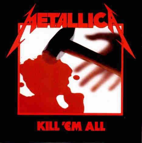 METALLICA kill 'em all CD 1983 THRASH METAL