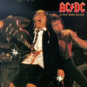 AC/DC if you want blood you've got it CD 1978 ROCK