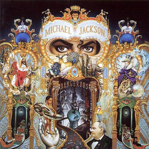 MICHAEL JACKSON dangerous CD 1991 POP MUSIC