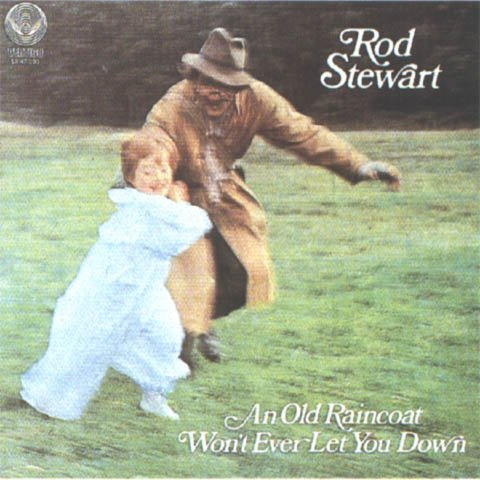ROD STEWART an old raincoat won't ever let you down CD FORMATO MINI VINIL 1969 ROCK