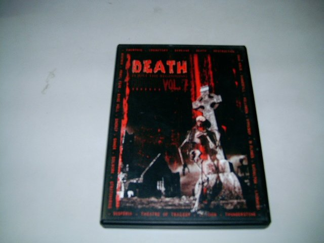 DEATH IS JUST THE BEGINNING vol.7 DVD + CD 200? HEAVY METAL
