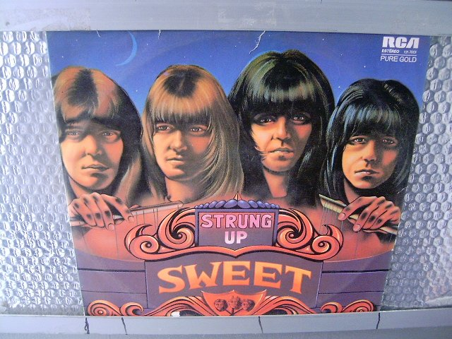 SWEET strung up LP 1976 GLAM ROCK
