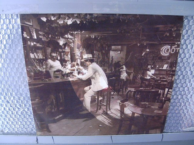 LED ZEPPELIN in through the out door LP 1988 ROCK
