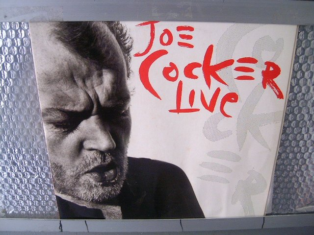 JOE COCKER live 2LP 1990 ROCK MUITO RARO VINIL