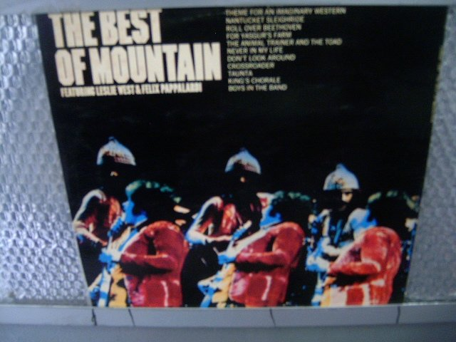 MOUNTAIN the best of mountain LP 1973 ROCK MUITO RARO VINIL