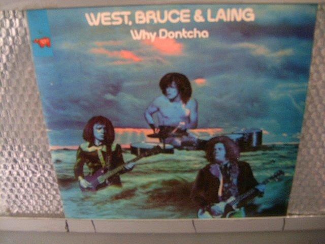 WEST, BRUCE & LAING why dontcha LP 1973 ROCK MUITO RARO VINIL