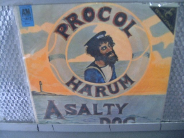PROCOL HARUM a salty dog LP 1971 PROGRESSIVE ROCK