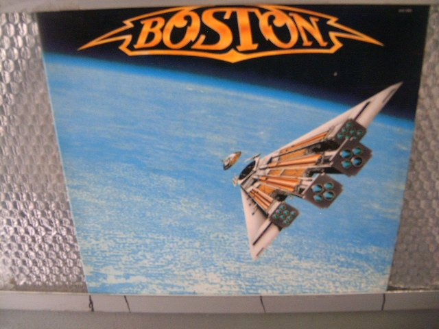BOSTON third stage LP 1986 AOR MUITO RARO VINIL