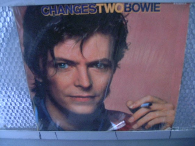 DAVID BOWIE changes two bowie LP 1981 ROCK**